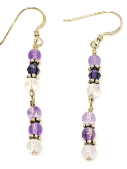 Alluring Amethyst Earrings
