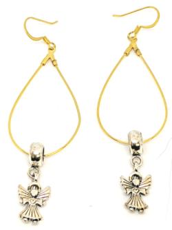 Angel Hoop Earrings