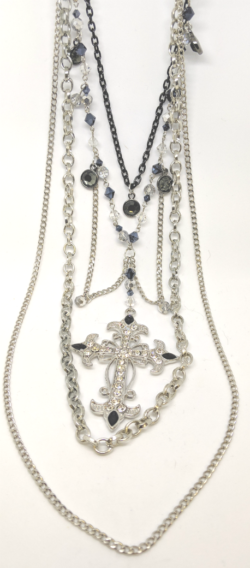Angelica Cross Necklace