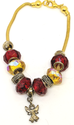 Red and Yellow Angel Bracelet