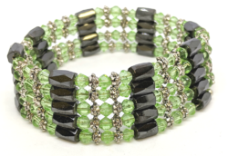 Green and Black Magnetic Wrap Around