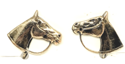 Horse Head Earrings.