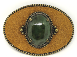 Jade Leather Buckle