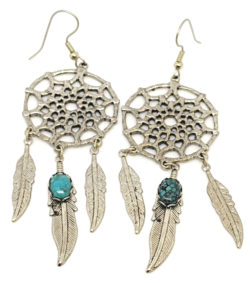 Large Dream Catcher Earrings