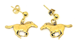 Mustang Earrings