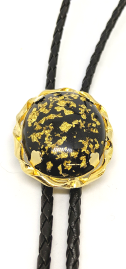 Pounded Gold Bolo