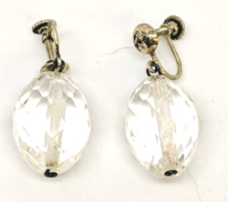 Quartz Oval Earrings
