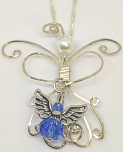 Teresa's Angel-Blue
