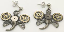 Bug Gear Earrings