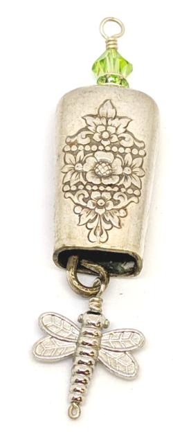 Green Bell Ringer Pendant