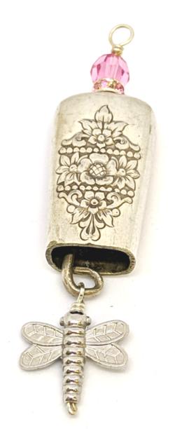 Pink Bell Ringer Pendant