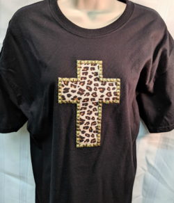 Leopardskin Cross