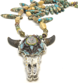 Western Skull Necklace