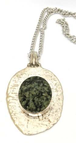 Wyoming Jade Spoon Necklace