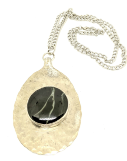 Wyoming Jade Lightning Necklace
